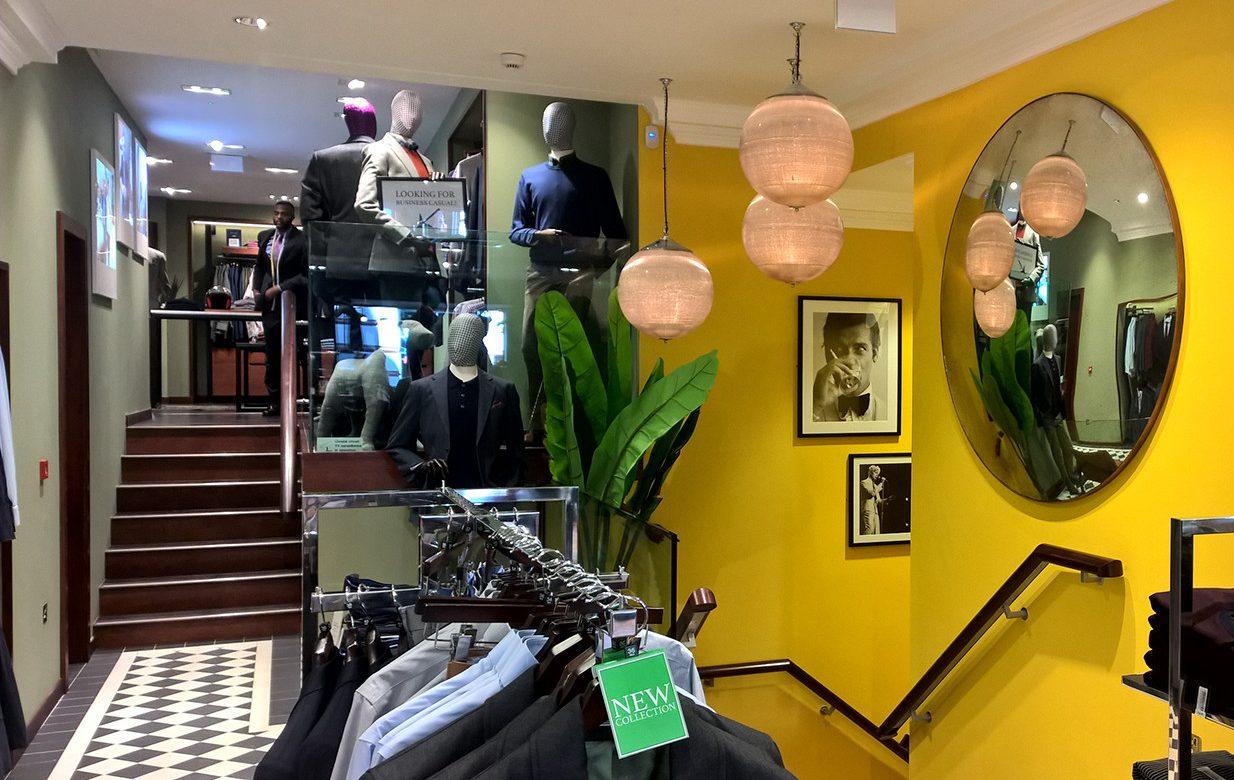 Charles Tyrwhitt Jermyn Street Expansion